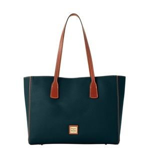 Dooney & Bourke Leather Large Ashton Tote - Black